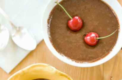 Mousse de Chocolate Sem Açúcar