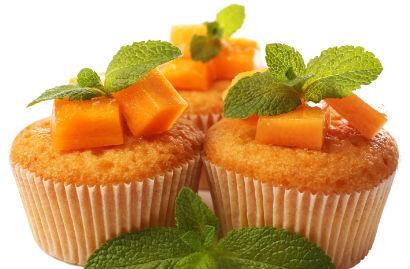 Muffin proteico de abóbora