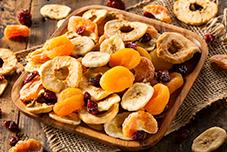 frutas secas e castanhas