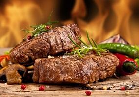 proteina da carne isolada
